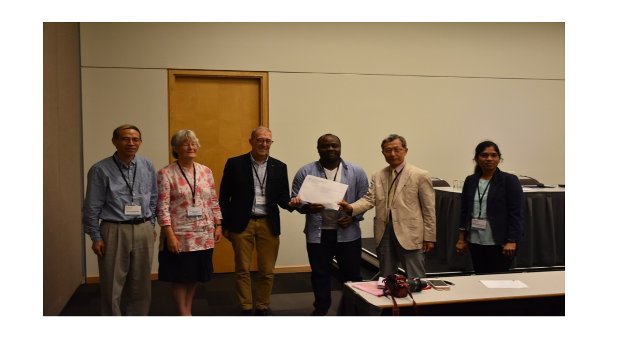 Mr. Armand Mouafo, University of Tasmania, Australia Winner, IGU-YECG Late Dr. Manju Singh Best Paper Award